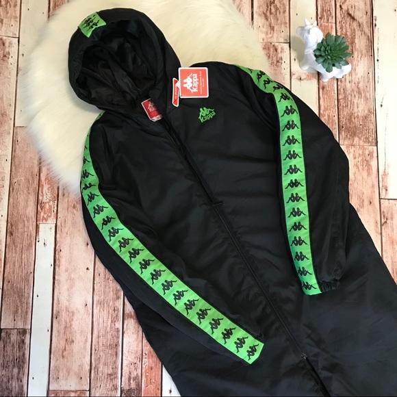 ec51a0cf899e Kappa x Urban Outfitters Parka Jacket Small NWT